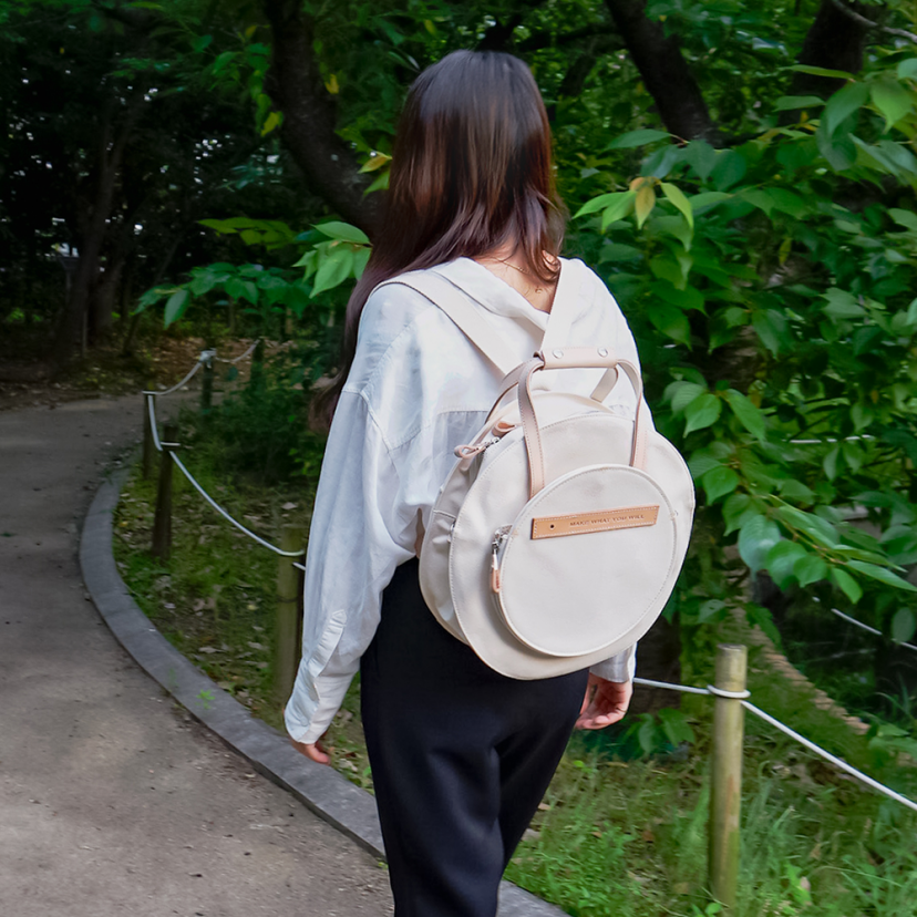 SYL ROUND BACKPACK SET M