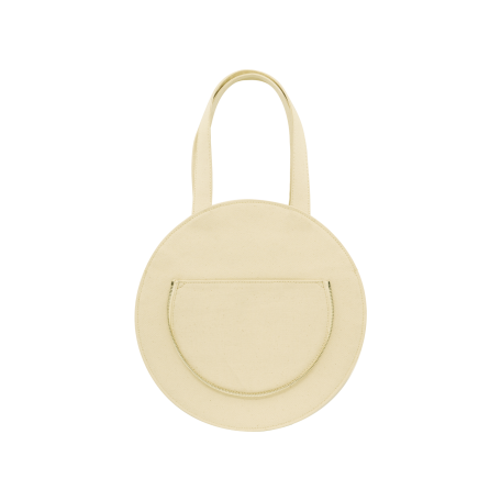 SYL ROUND FLAT TOTE
